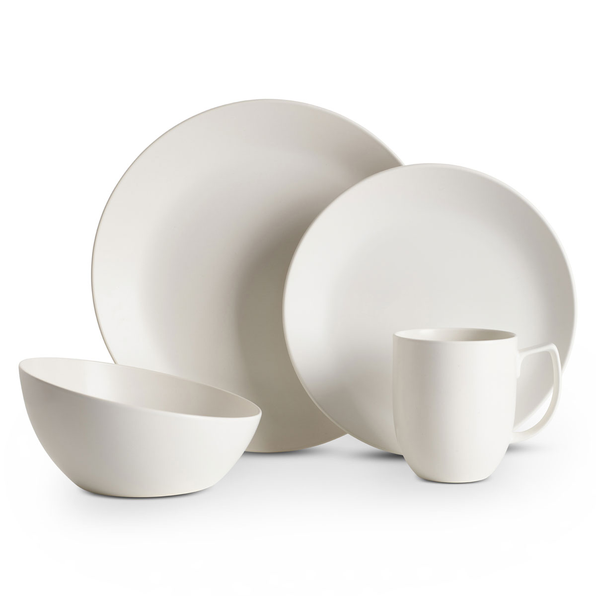 Nambe Orbit 4 Piece Place Setting Starry White