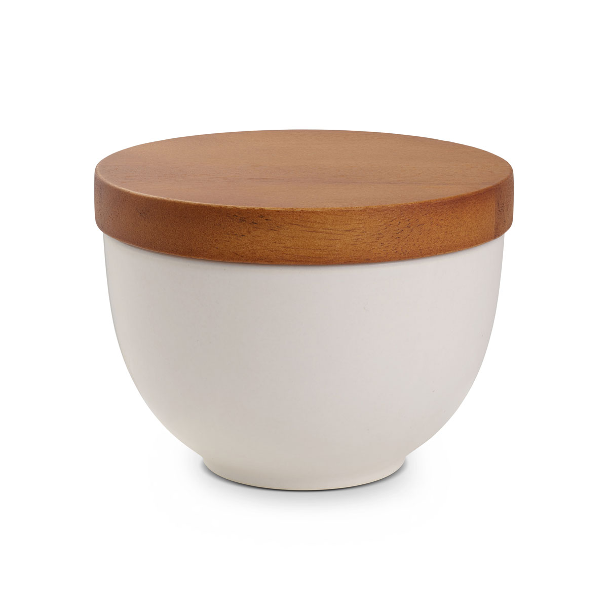Nambe Prism Candle Bowl with Lid Starry White