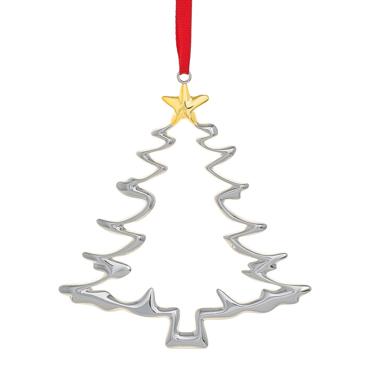 Nambe Tree Christmas Ornament