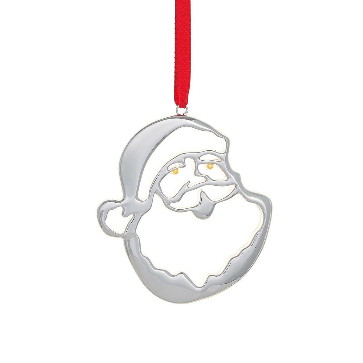 Nambe 2019 Santa Christmas Ornament
