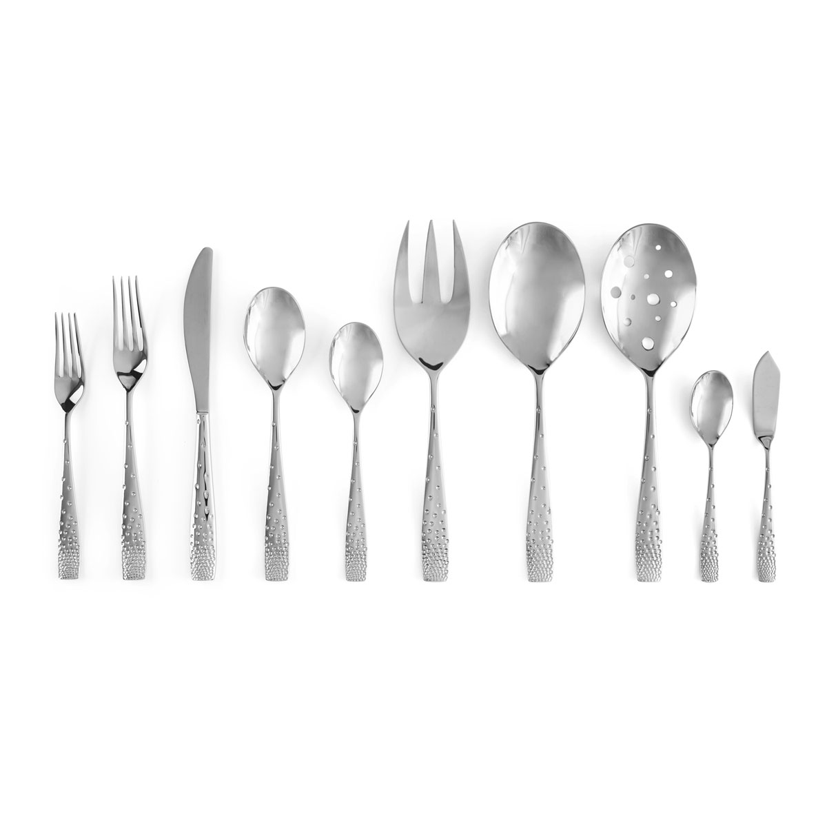 Nambe Dazzle 45 Piece Flatware Set