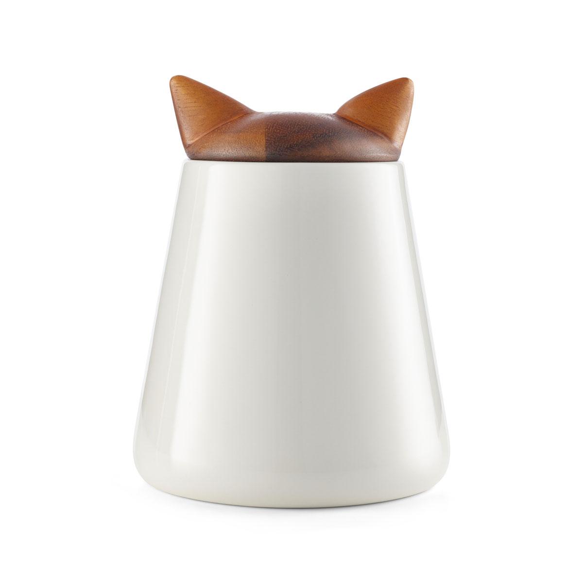 Nambe Pet Collection Cat Treat Jar