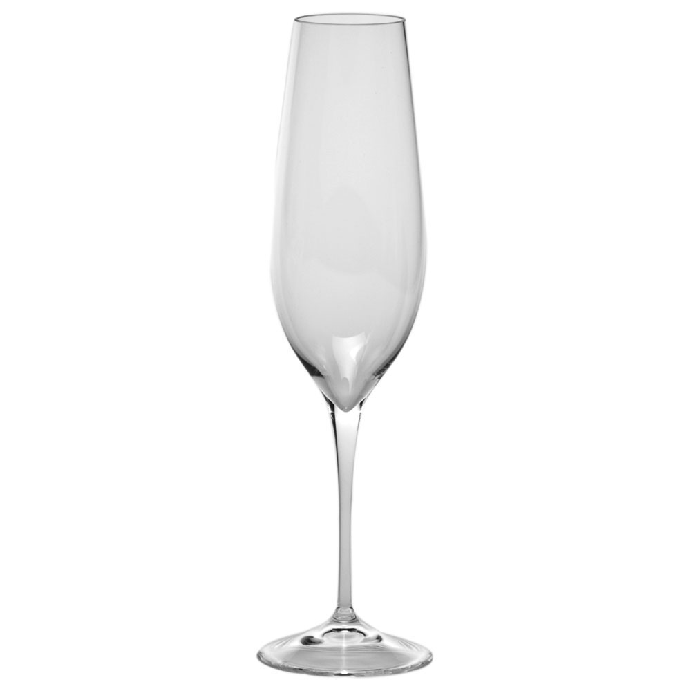 Moser Crystal Oeno Champagne Flute, Single