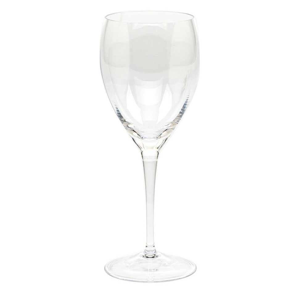 Moser Optic Goblet Clear, Single