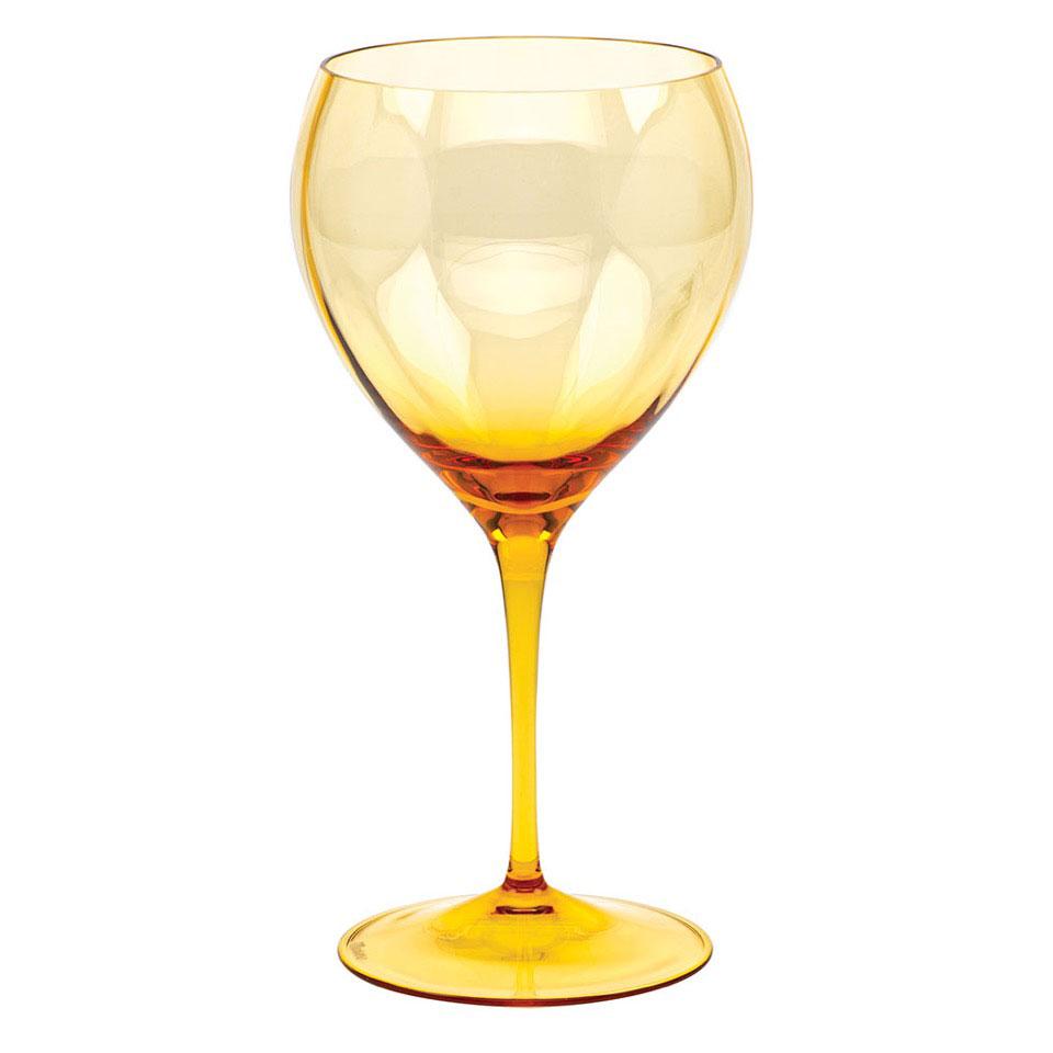 Moser Optic Red Wine Topaz, Single