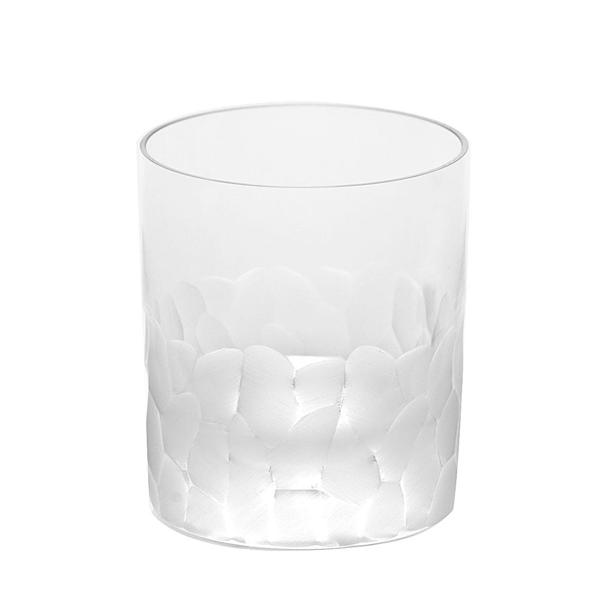 Moser Crystal Pebbles DOF Tumbler, Clear, Single