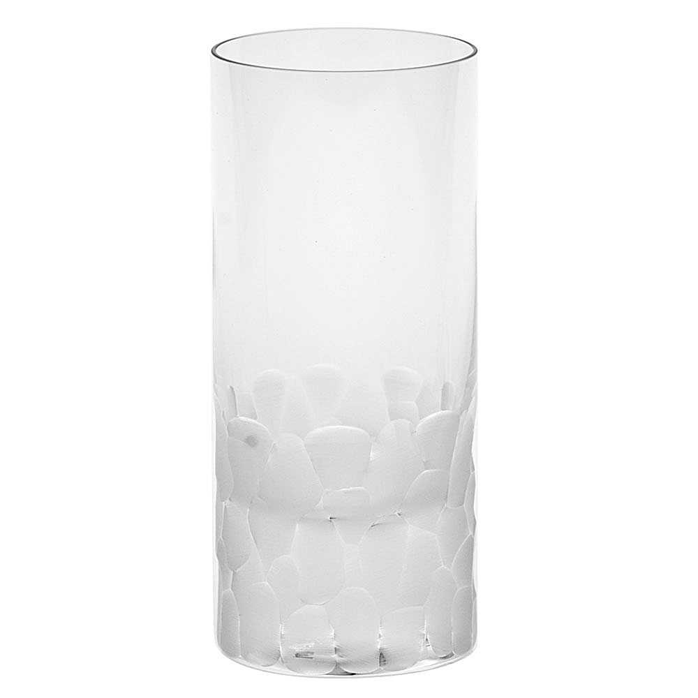 Moser Crystal Pebbles Hiball Glass, Clear, Single