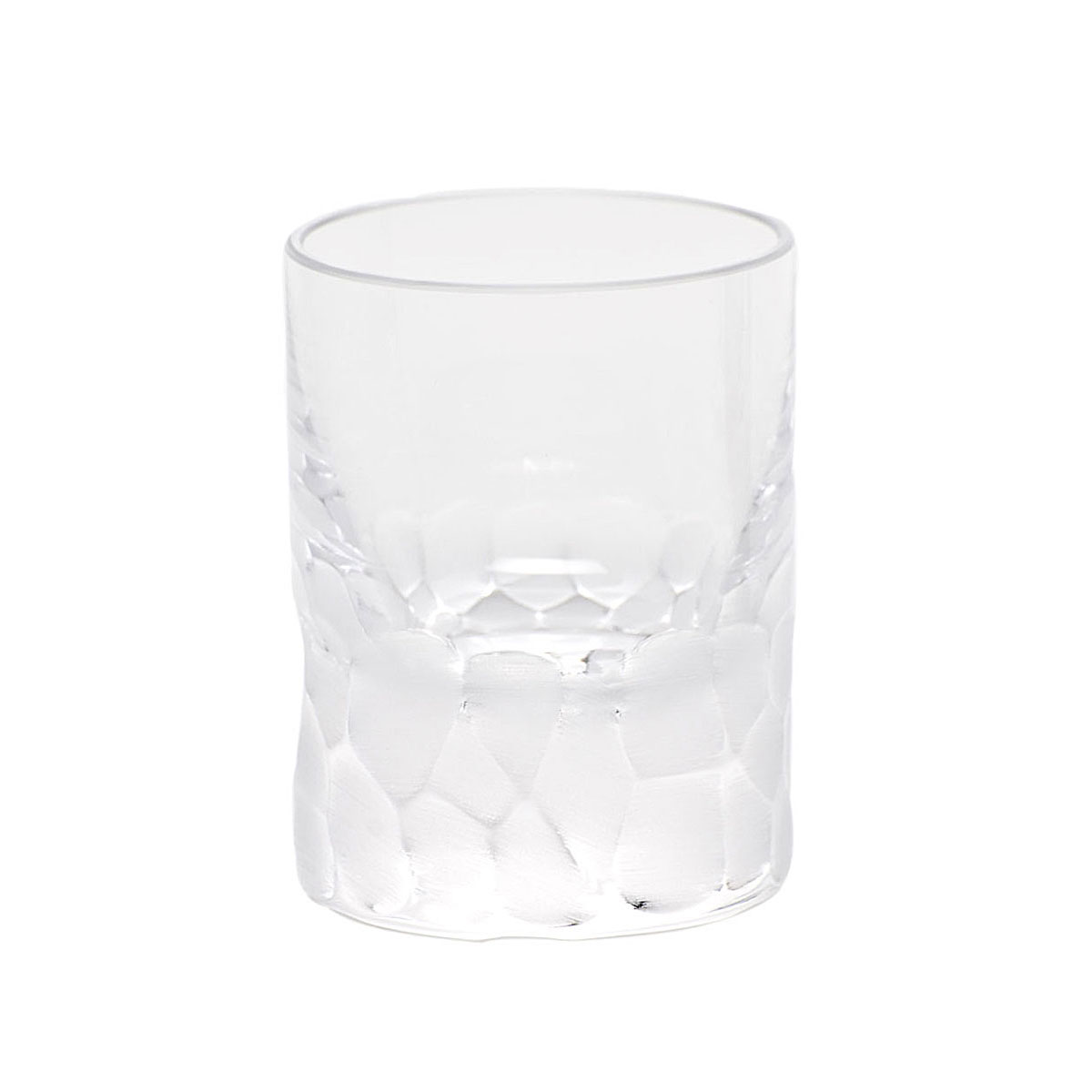 Moser Crystal Pebbles Shot Glass Clear, Single