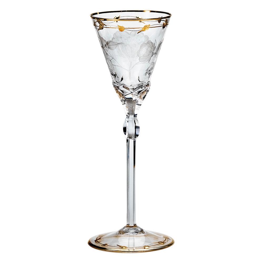 Moser Crystal Paula Red Wine Glass, Single
