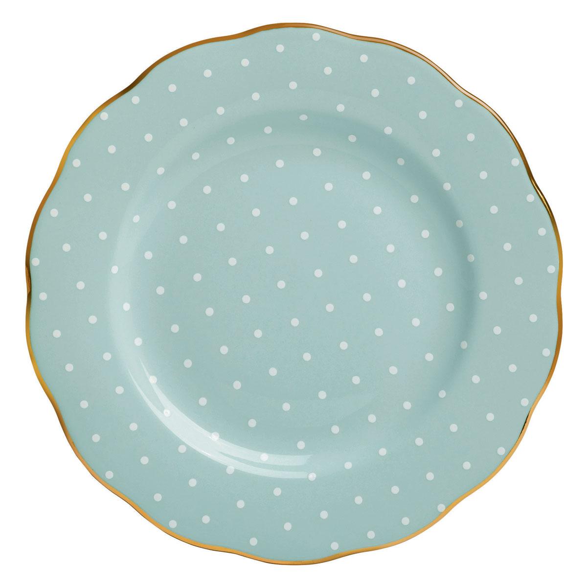 "Royal Albert Polka Rose Salad Plate 8.3"""
