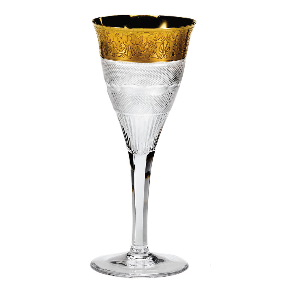 Moser Crystal Splendid White Wine Glass, Single