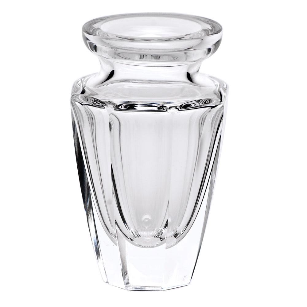 "Moser Crystal Eternity Bud Vase 4.5"" Clear"