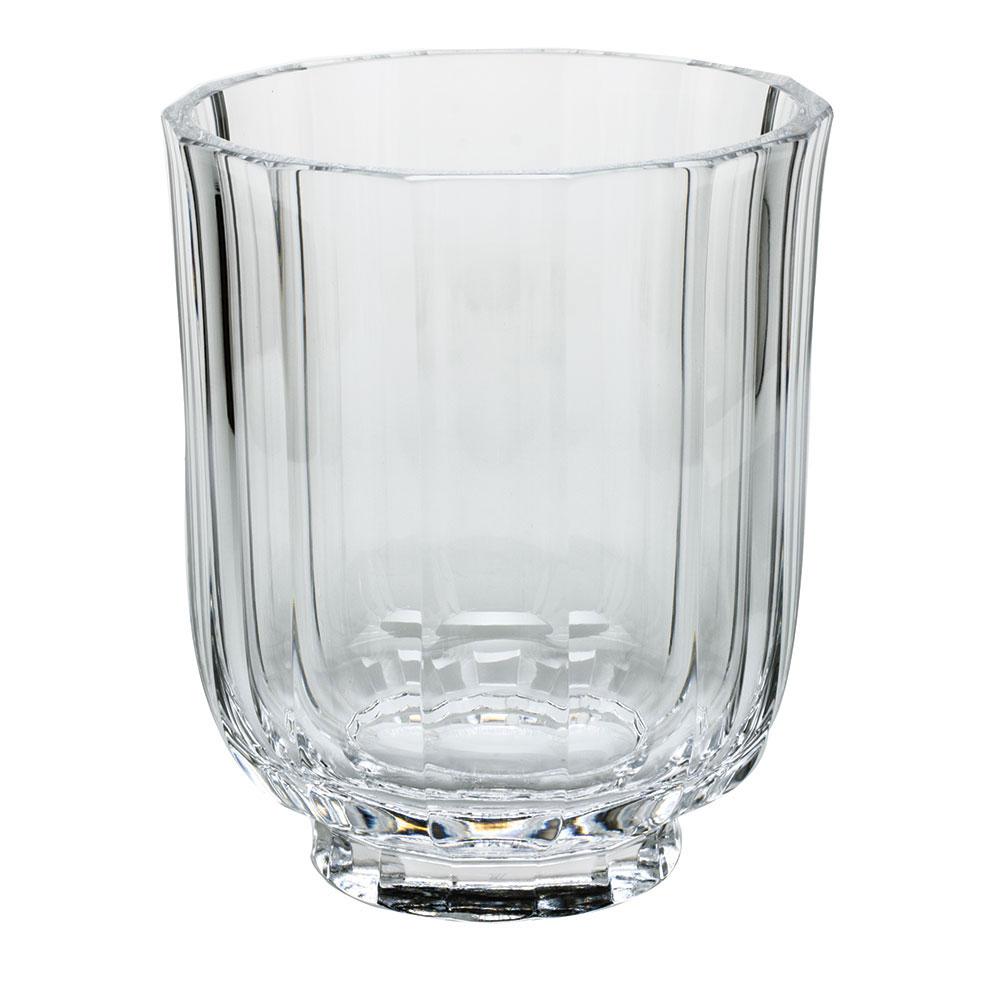 "Moser Crystal Paradise 7.9"" Vase, Clear"
