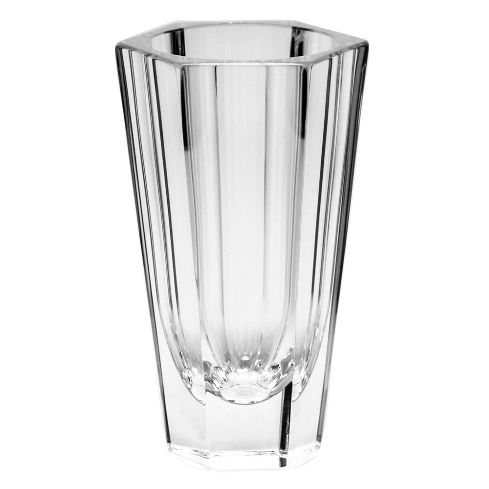 "Moser Crystal Purity Bud Vase 4.5"" Clear"