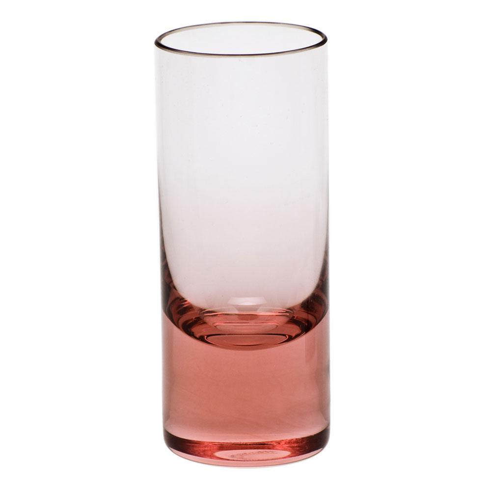 Moser Crystal Vodka Shot Glass, Rosalin