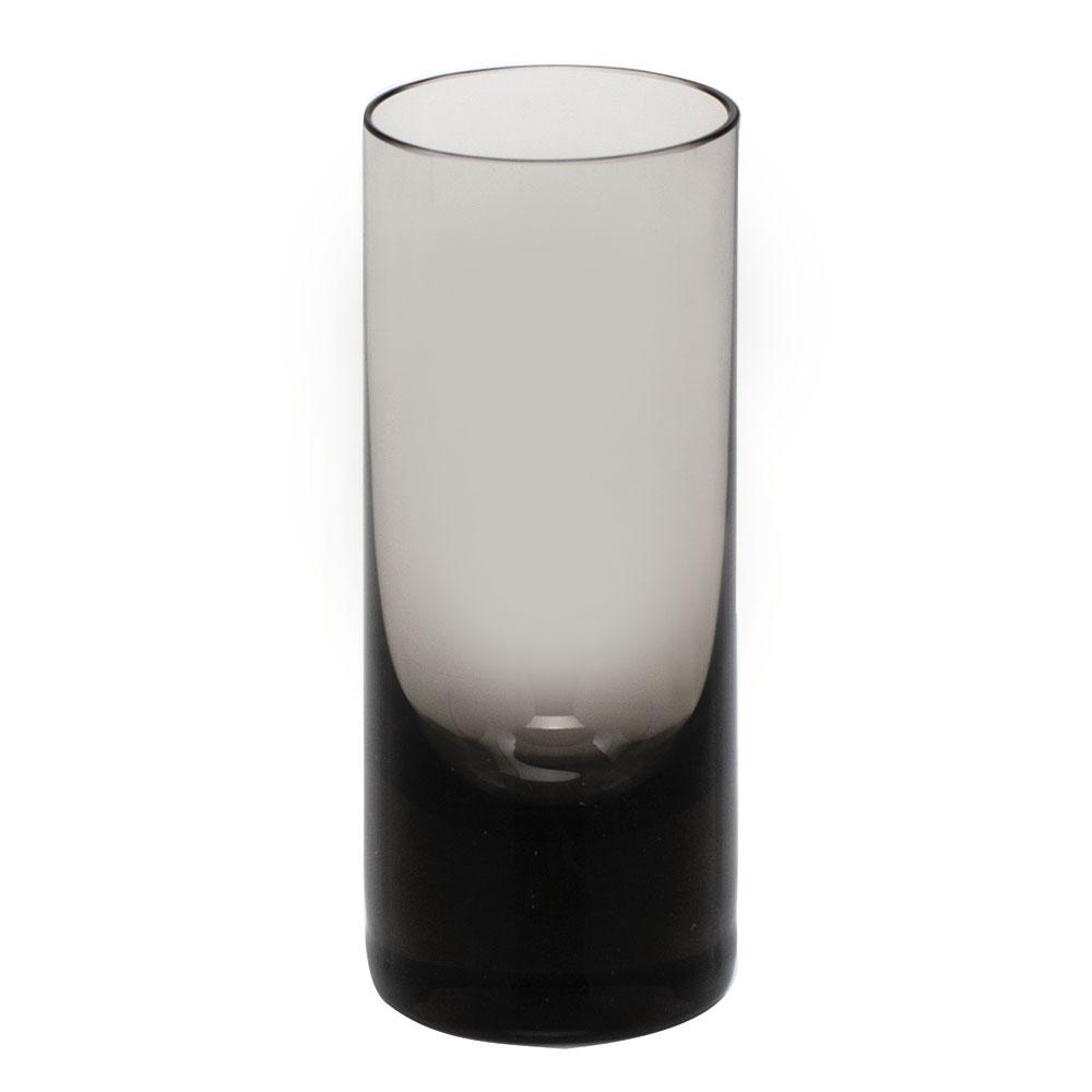 Moser Crystal Vodka Shot Glass, Smoke