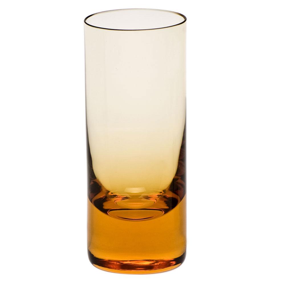 Moser Crystal Vodka Shot Glass, Topaz