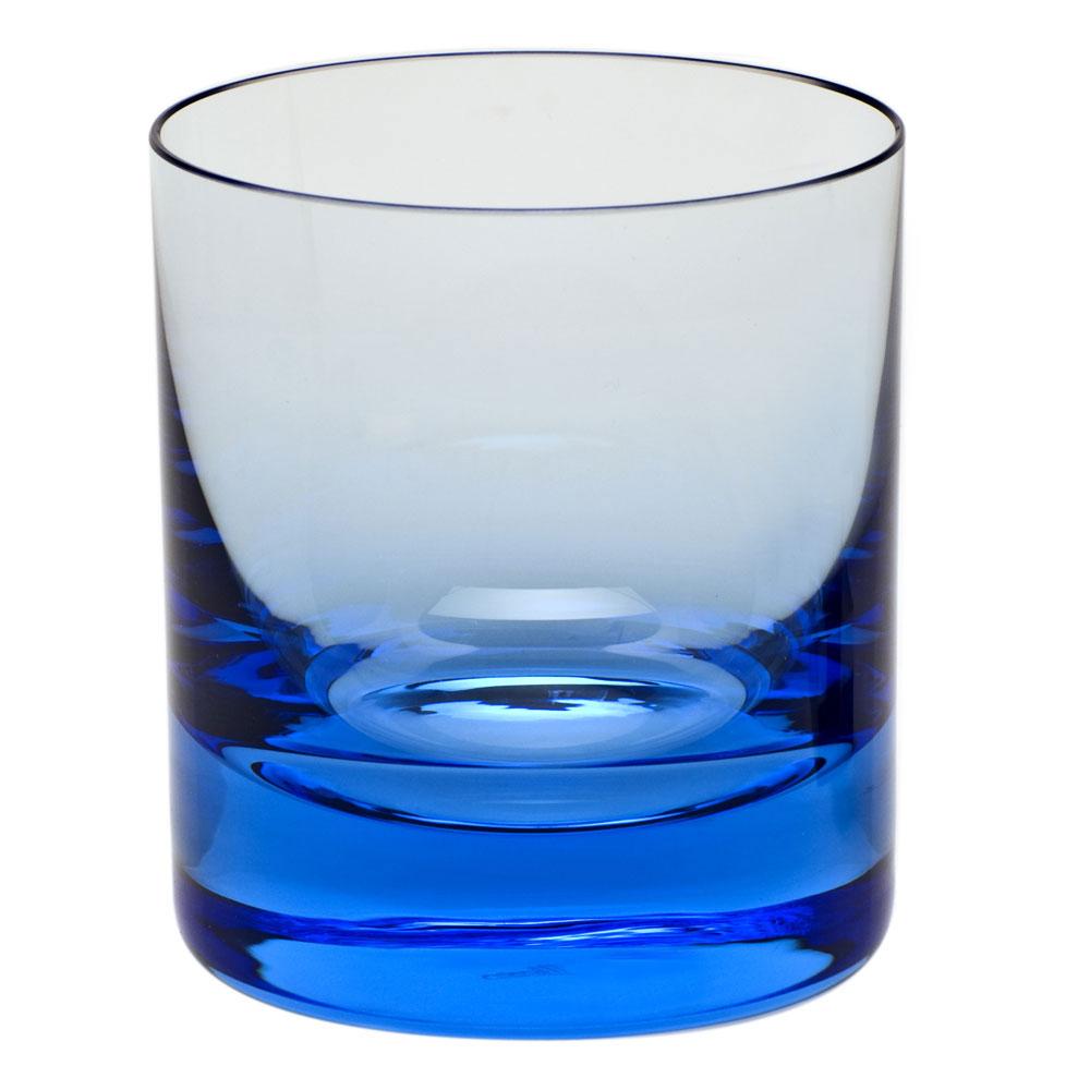 Moser Crystal Whisky D.O.F. 12.5 Oz. Aquamarine