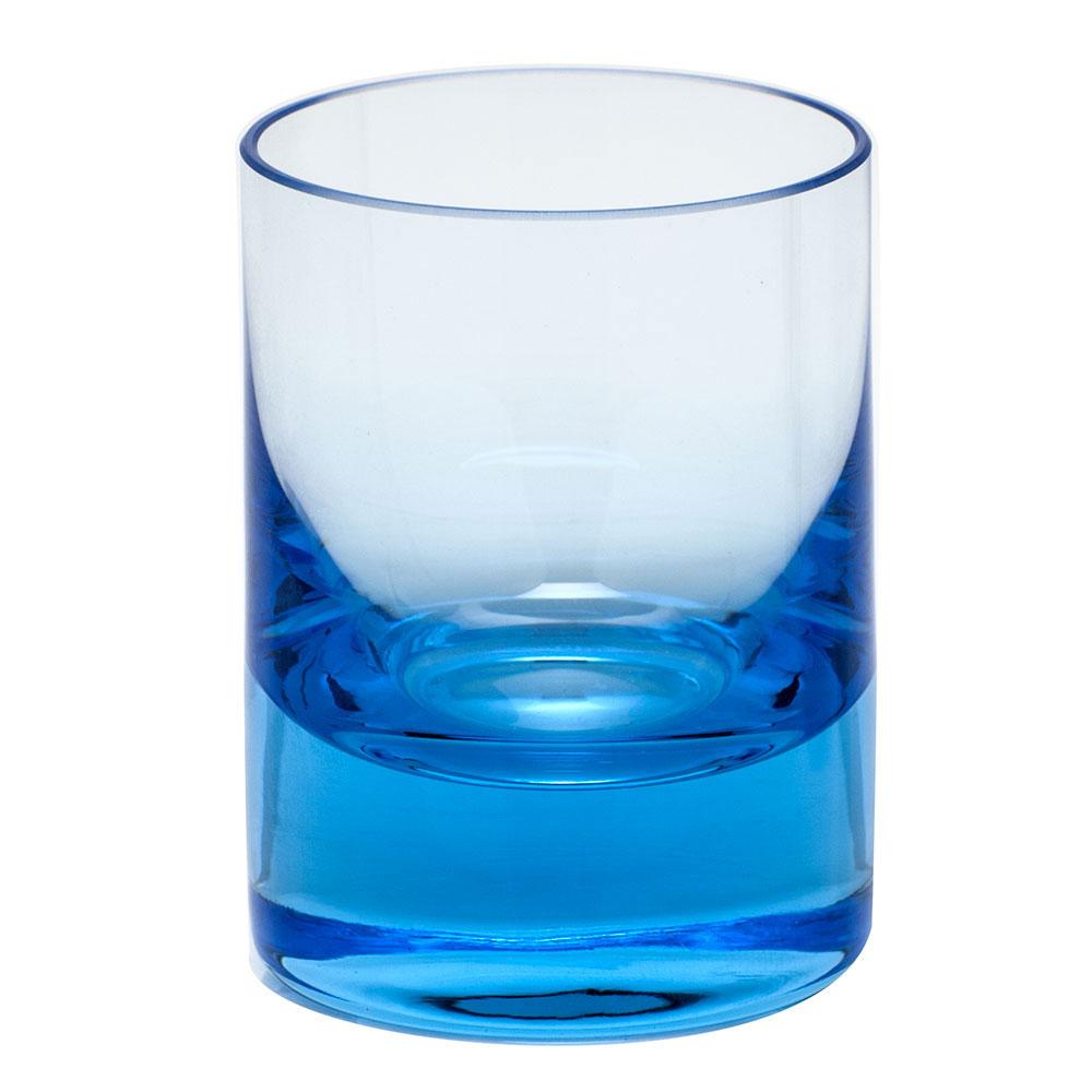 Moser Crystal Whisky Shot Glass 2 Oz. Aquamarine