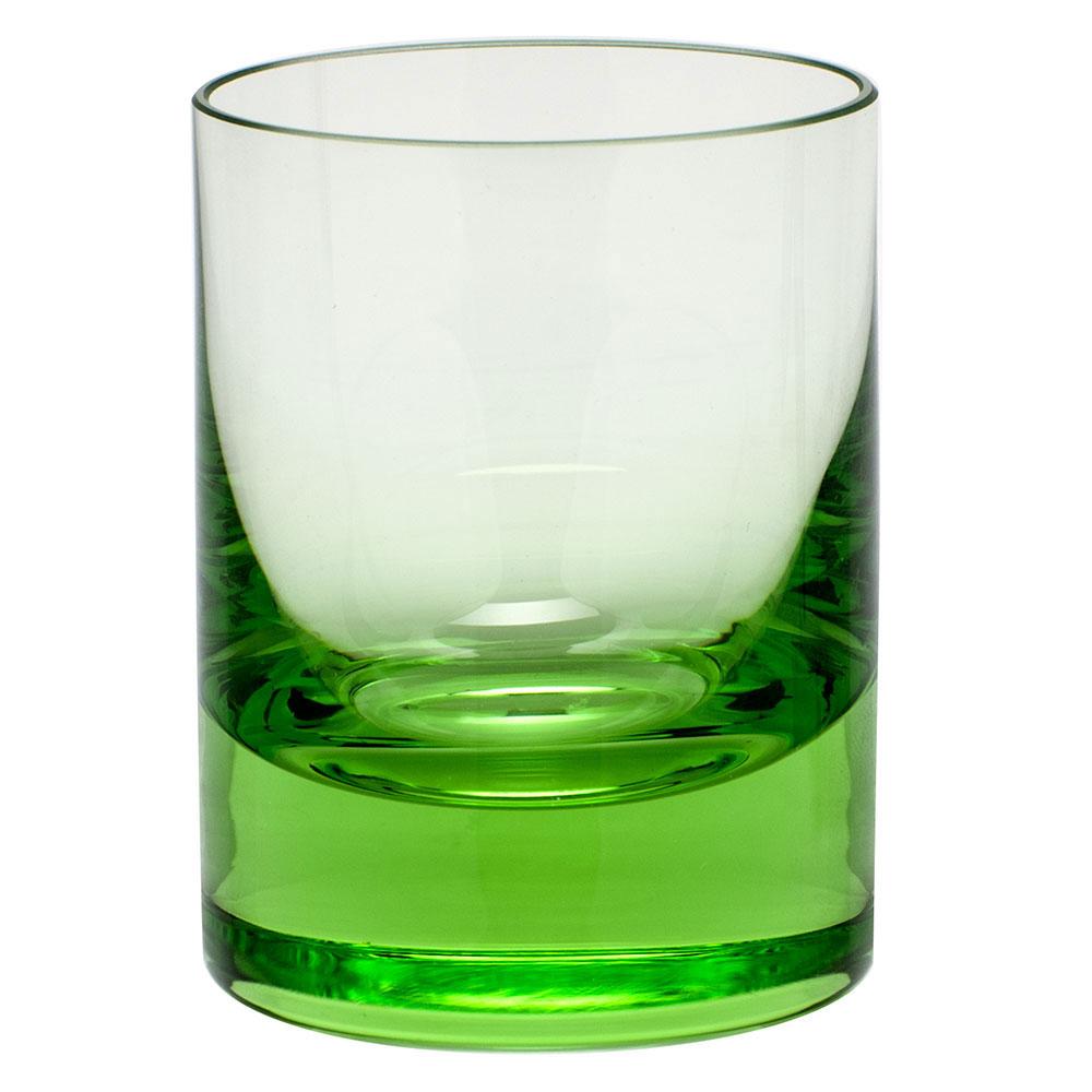 Moser Crystal Whisky Shot Glass 2 Oz. Ocean Green