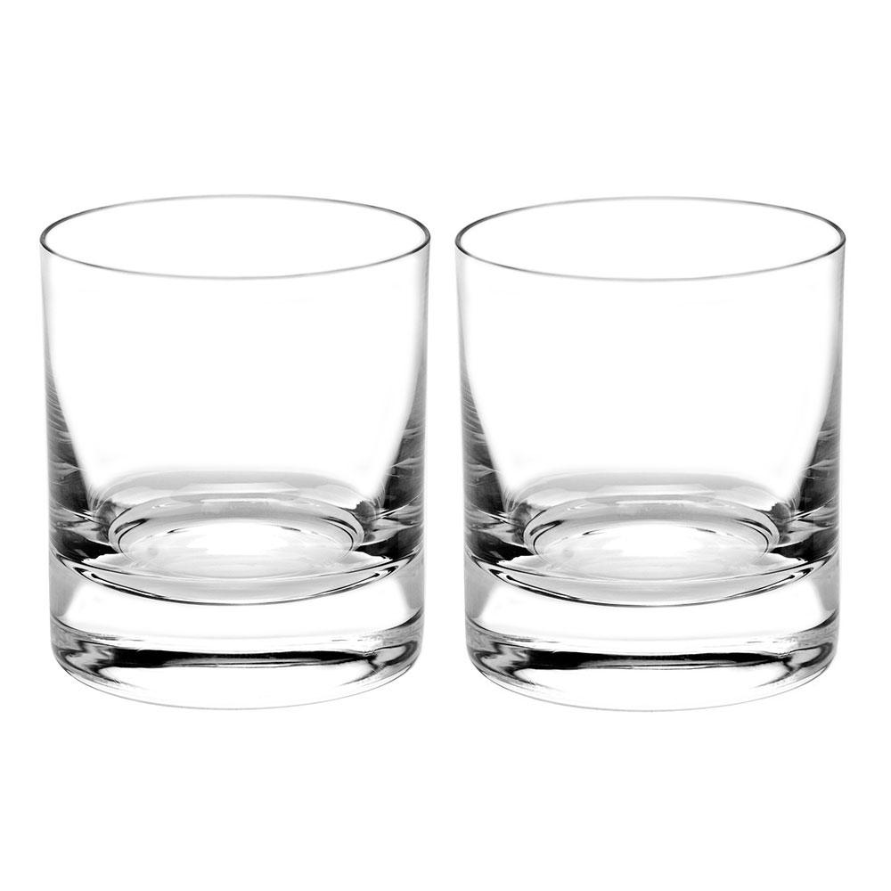 Moser Crystal Whisky D.O.F. 12.5 Oz. Pair Clear