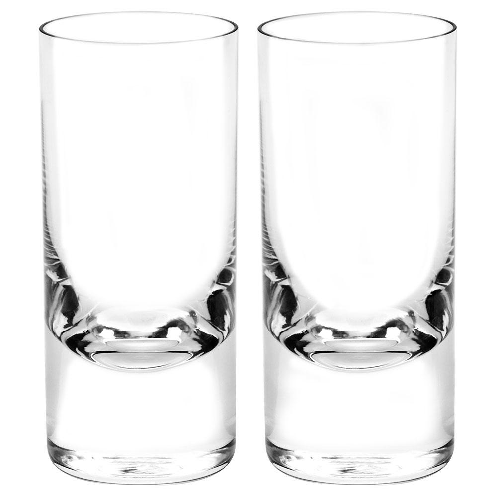 Moser Crystal Whisky Hiball 13.5 Oz. Pair Clear