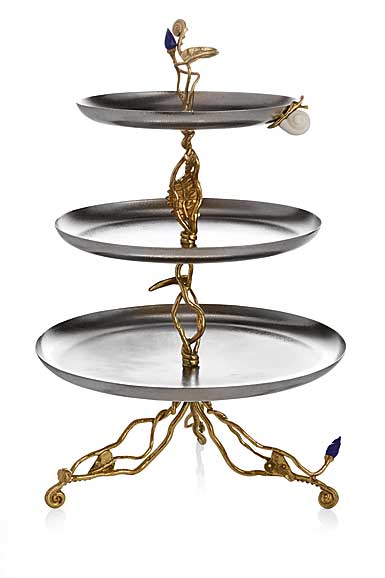 "Michael Aram Enchanted Garden 21"" Etagere"