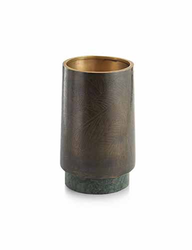 "Michael Aram Rainforest 8 1/4"" Vase"