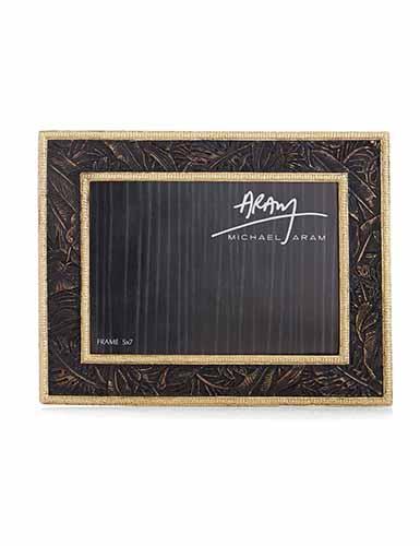 "Michael Aram Rainforest 5x7"" Photo Frame"