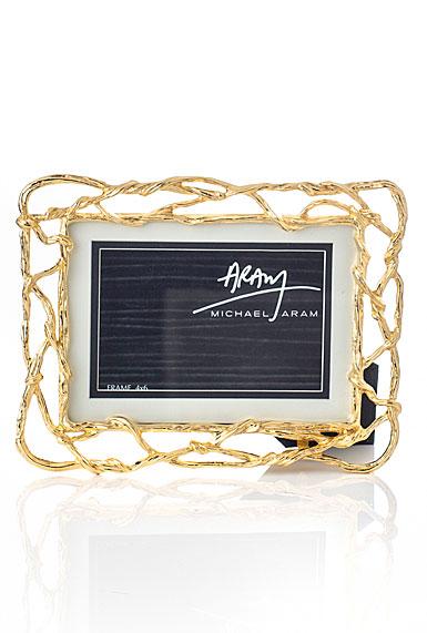 "Michael Aram Wisteria Gold 4 x 6"" or 5 x 7"" Frame"