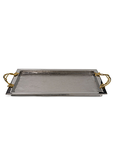Michael Aram Ivy and Oak Serving Tray