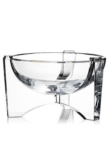 "Rogaska Crystal, Avant-Garde 11"" Crystal Bowl"