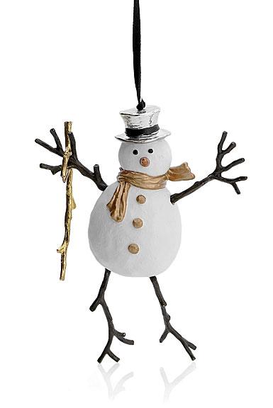 Michael Aram Snowman Ornament