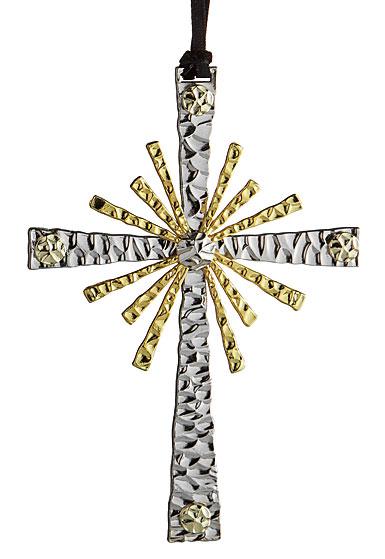 Michael Aram 2017 Forged Cross Ornament