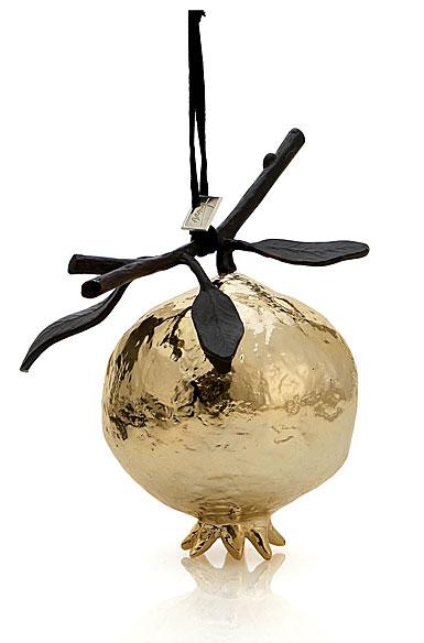 Michael Aram 2017 Pomegranate Ornament, Gold