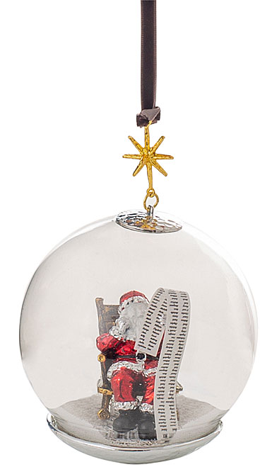 Michael Aram Santa Snow Globe Ornament
