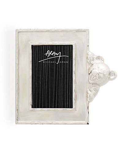 "Michael Aram Teddy 2x3"" Picture Frame"