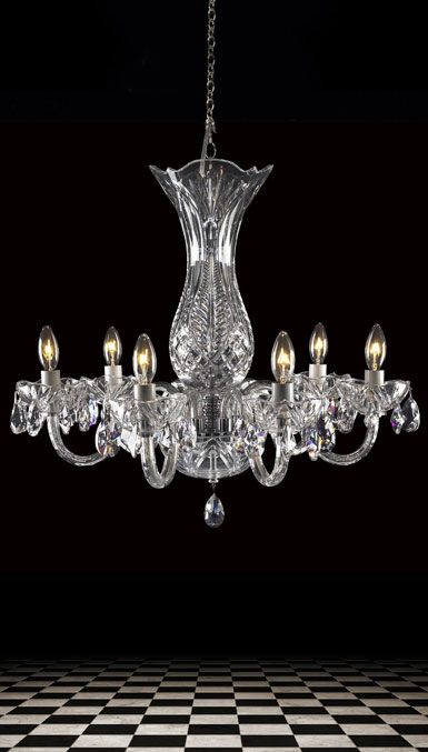 Waterford Chandelier Collection - Bluebell 6 Arm