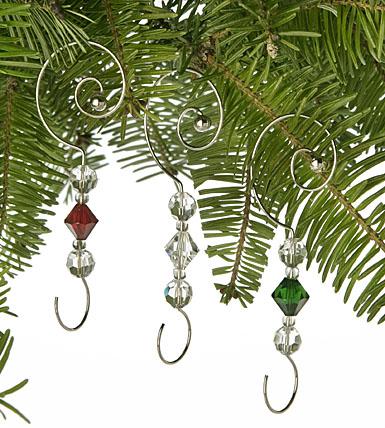 Waterford Ornament Enhancers, Set of 6 Hangers