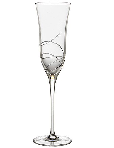 Waterford Crystal, Ballet Ribbon Essence Champagne Crystal Flute, Single