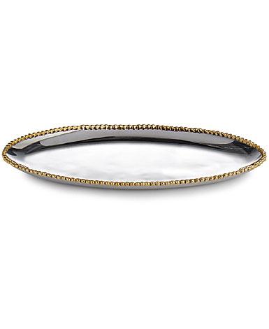Michael Aram Molten Gold Long Oval Platter