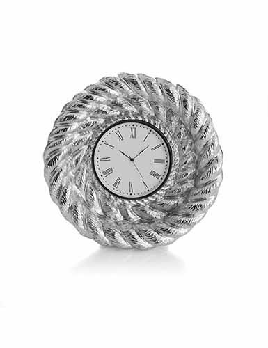 Michael Aram Rope Mini Clock