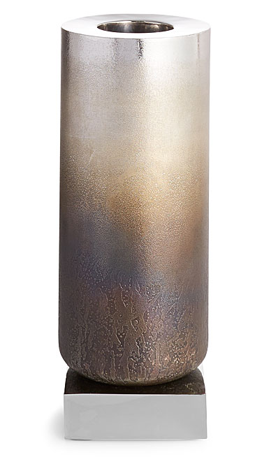 "Michael Aram Torched 16"" Metal Vase"