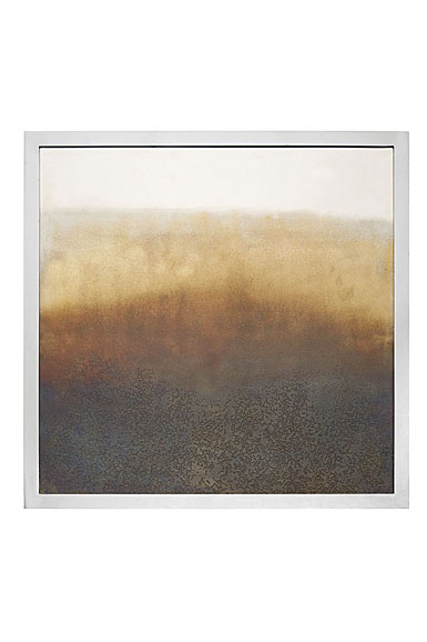Michael Aram Torched Square Wall Art, Limited Edition