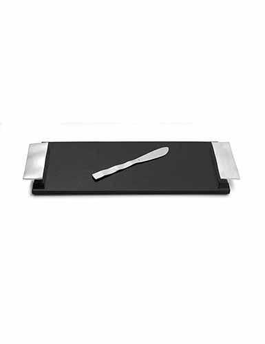 Michael Aram Ripple Effect Small Cheese Board with Knife