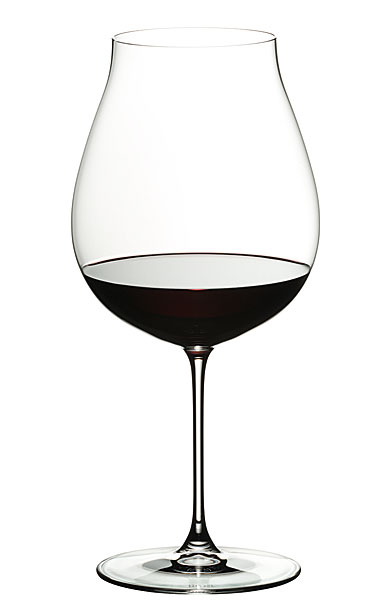 Riedel Veritas, New World Pinot Noir, Nebbiolo Crystal Wine Glass, Single