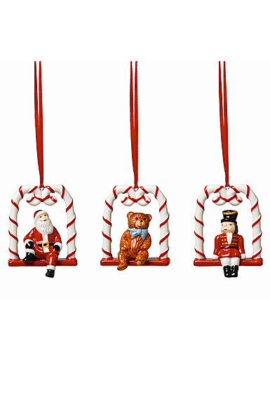 Villeroy and Boch 2021 Ornaments Swing, Set of 3