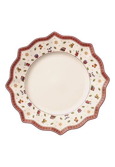 Villeroy and Boch Toy's Delight Dinner Plate White