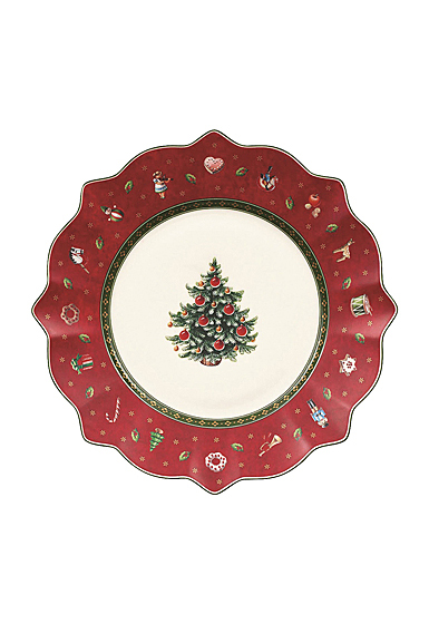 Villeroy and Boch Toy's Delight Salad Plate Red
