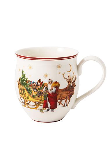 Villeroy and Boch Toy's Delight Mug Santa with Sleigh, Single